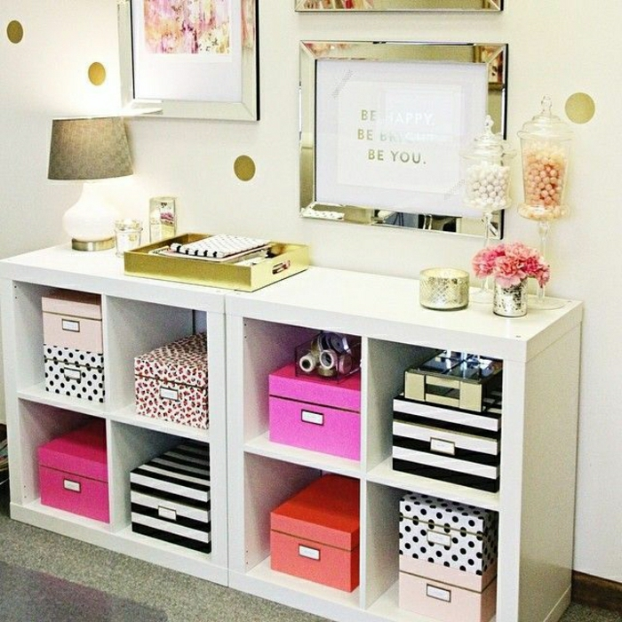 Pretty patterned storage