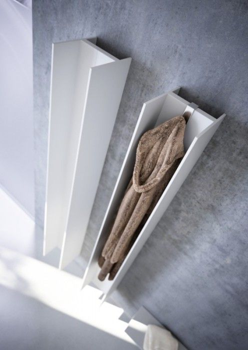 Radiator and a towel warmer design vertical