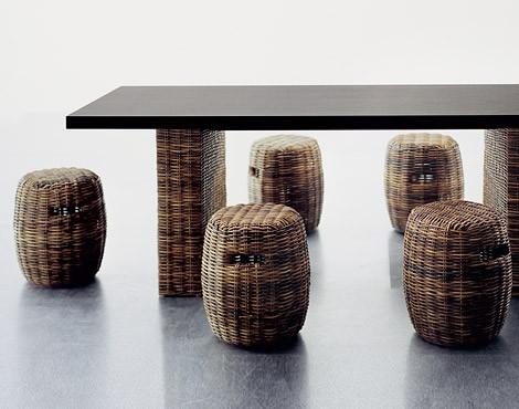 Rattan Furniture from Gervasoni