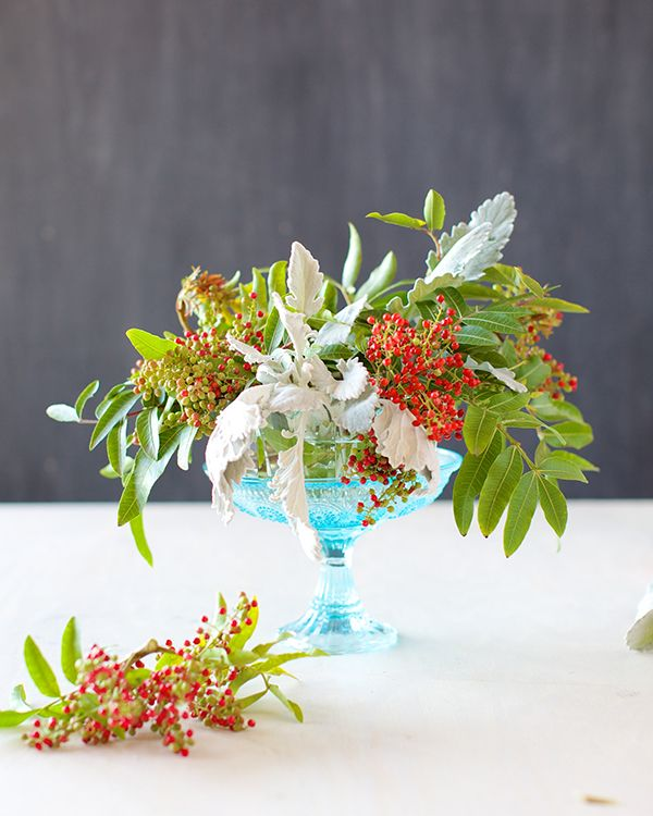 Romantic table centerpiece
