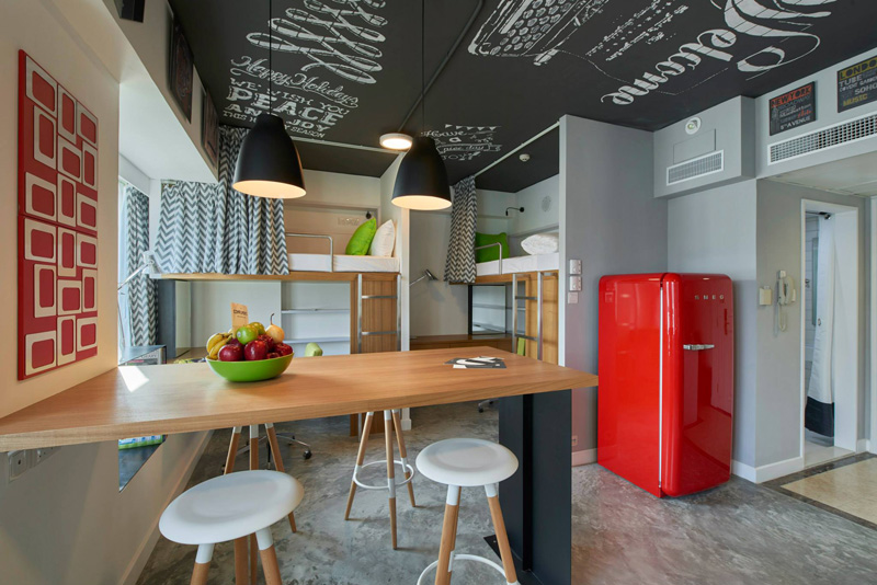 Small Student loft apartment