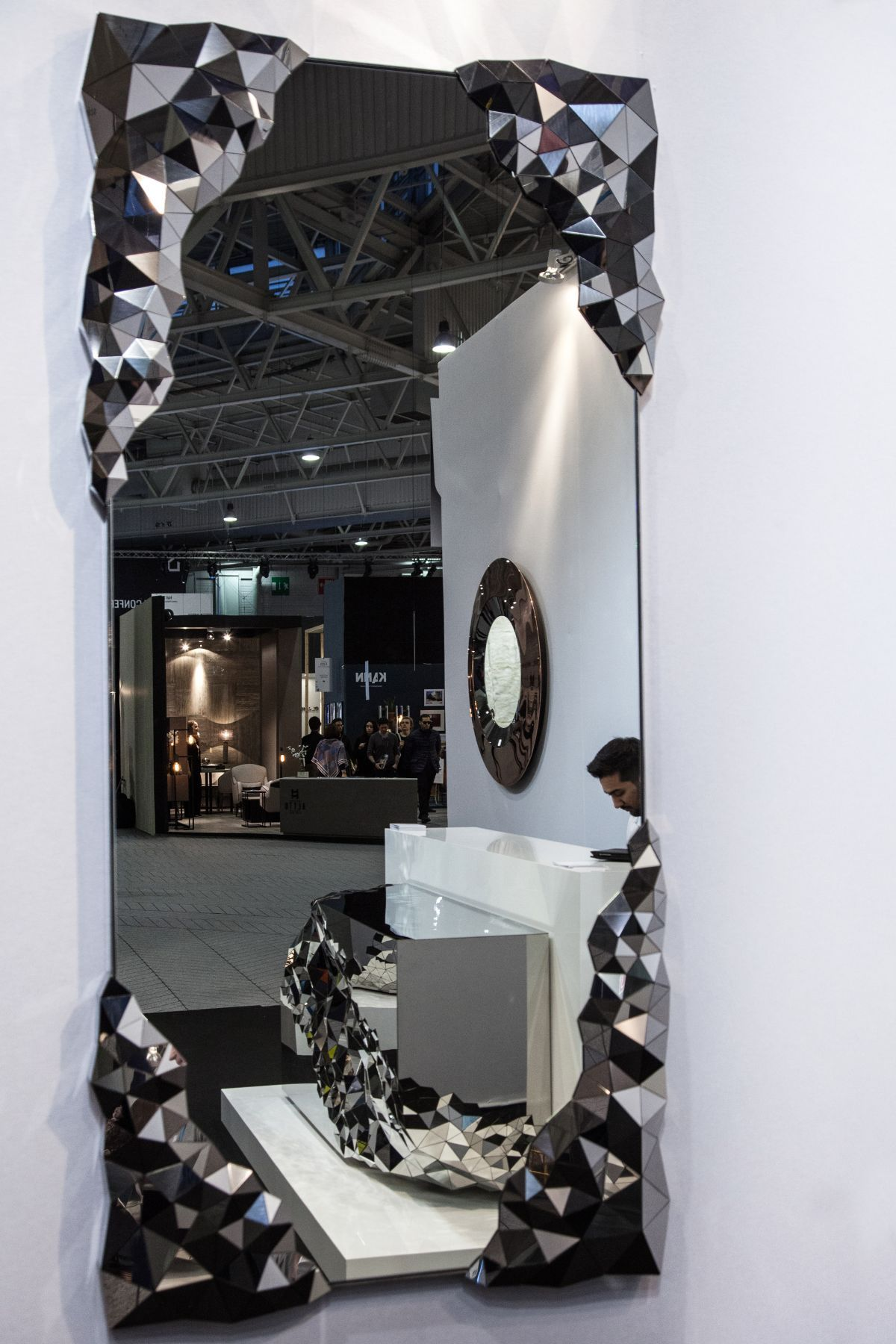 Stellar large wall mirror