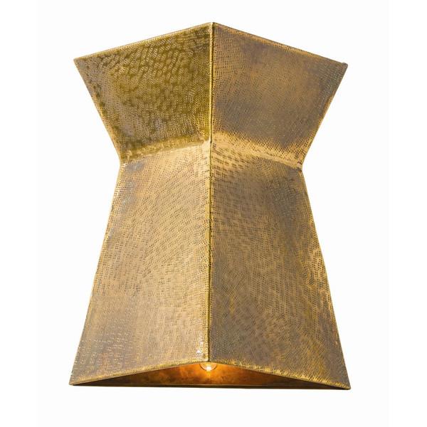 Stuart brass lighting fixture