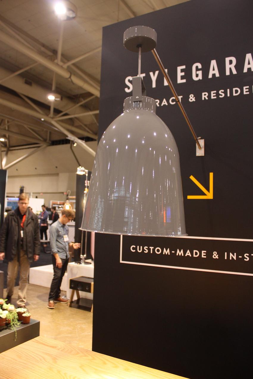 Style garage pendant