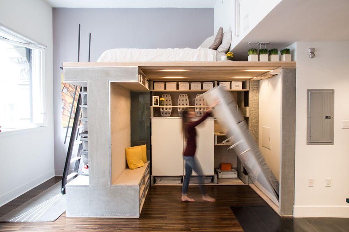 The Domino Loft murphy bed
