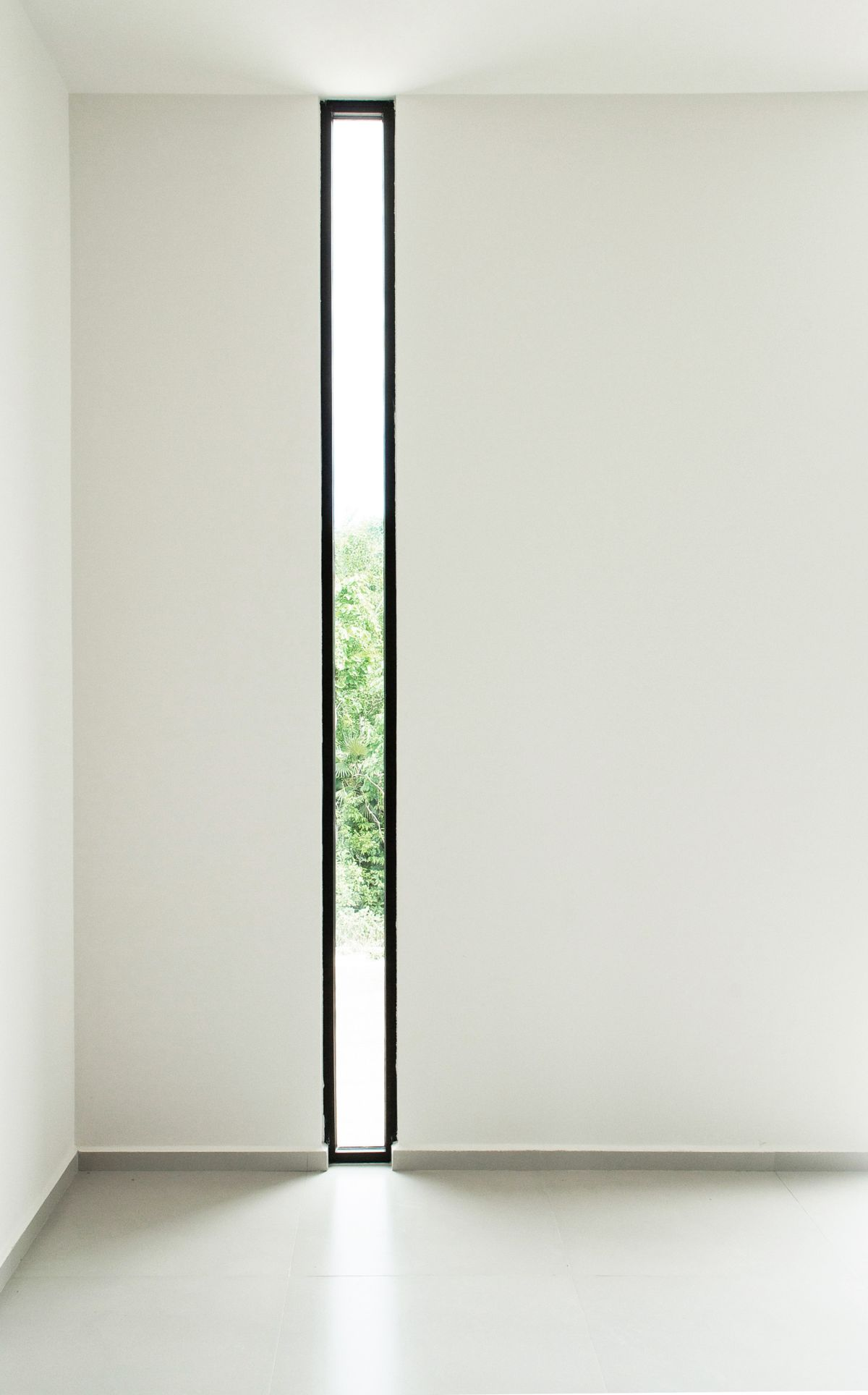 Thin and long window design