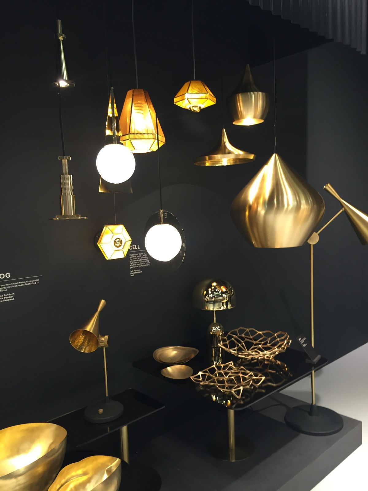 Light fixtures steal all the attention with their golden charm tom dixon copper lighting fixture arubaitofo Gallery