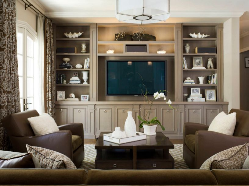Living Room Built Ins Gorgeous These 20 Builtin Shelves Will Revitalize Alot Of Space Around The . Design Inspiration