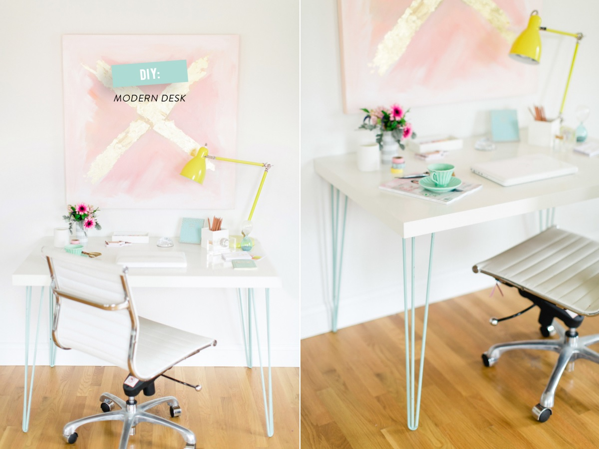 The Key To Chic Diy Furniture Is A Set Of Hairpin Legs # Table Tv A Pied Unique But