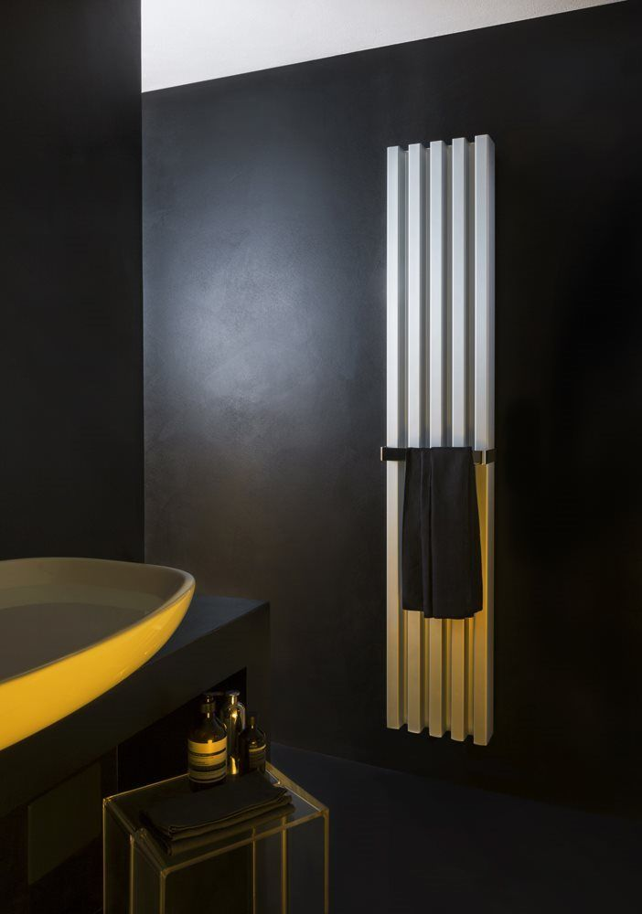 Vertical Soho towel warmer radiator for bathroom