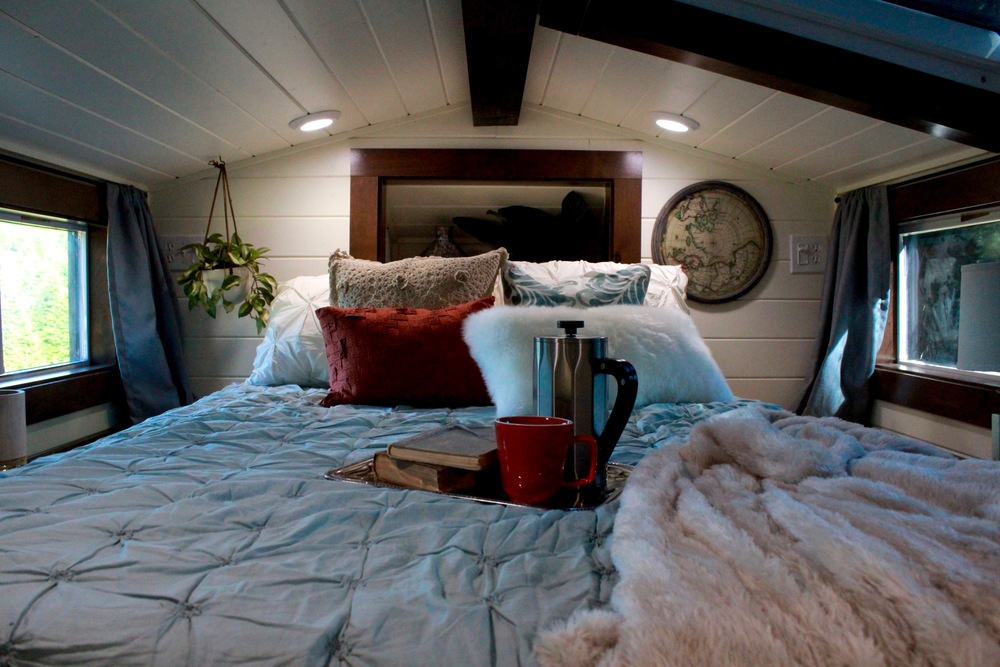 Vintage sleeping area
