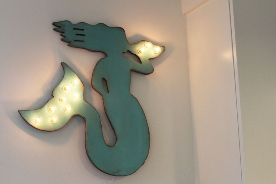 Superieur Mermaid Wall Lights