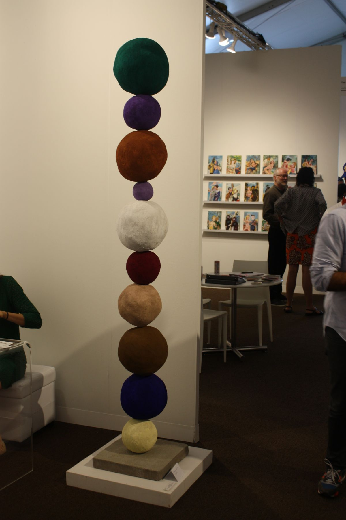 Winston Wachter Gallery ball sculpture