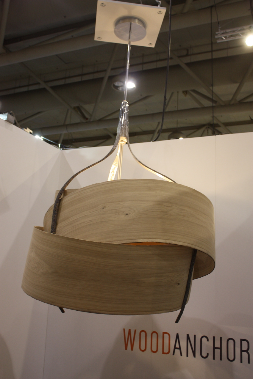 Wood Anchor chandelier