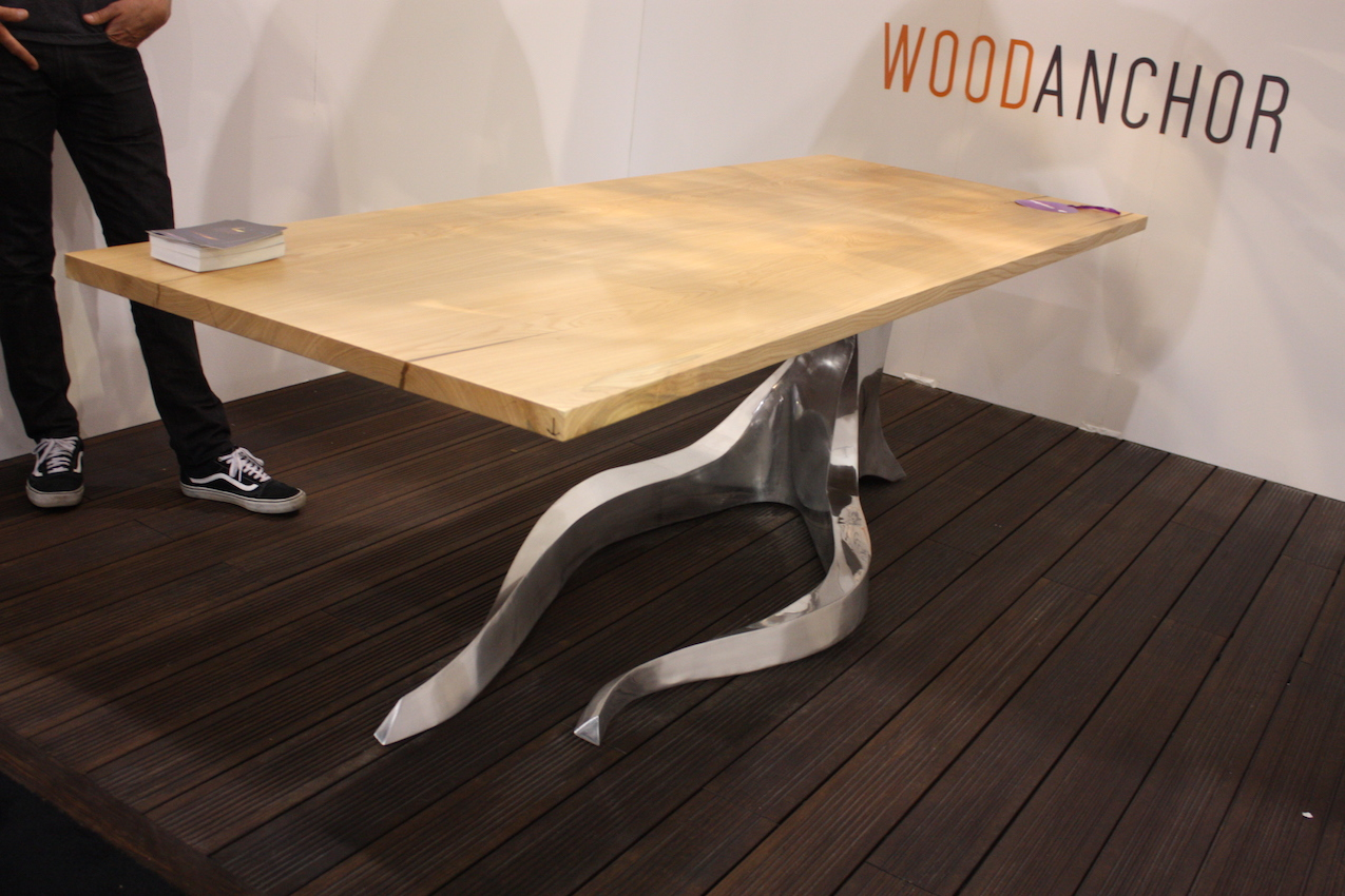Charming Wood Anchor Table
