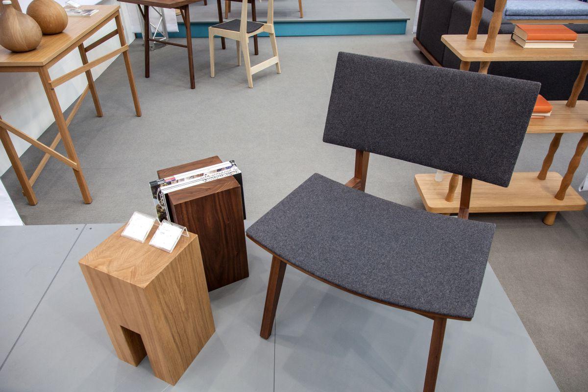 'Wood III' Chair in Walnut