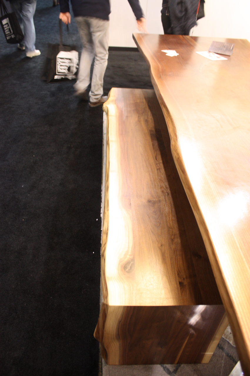 camilla live edge bench