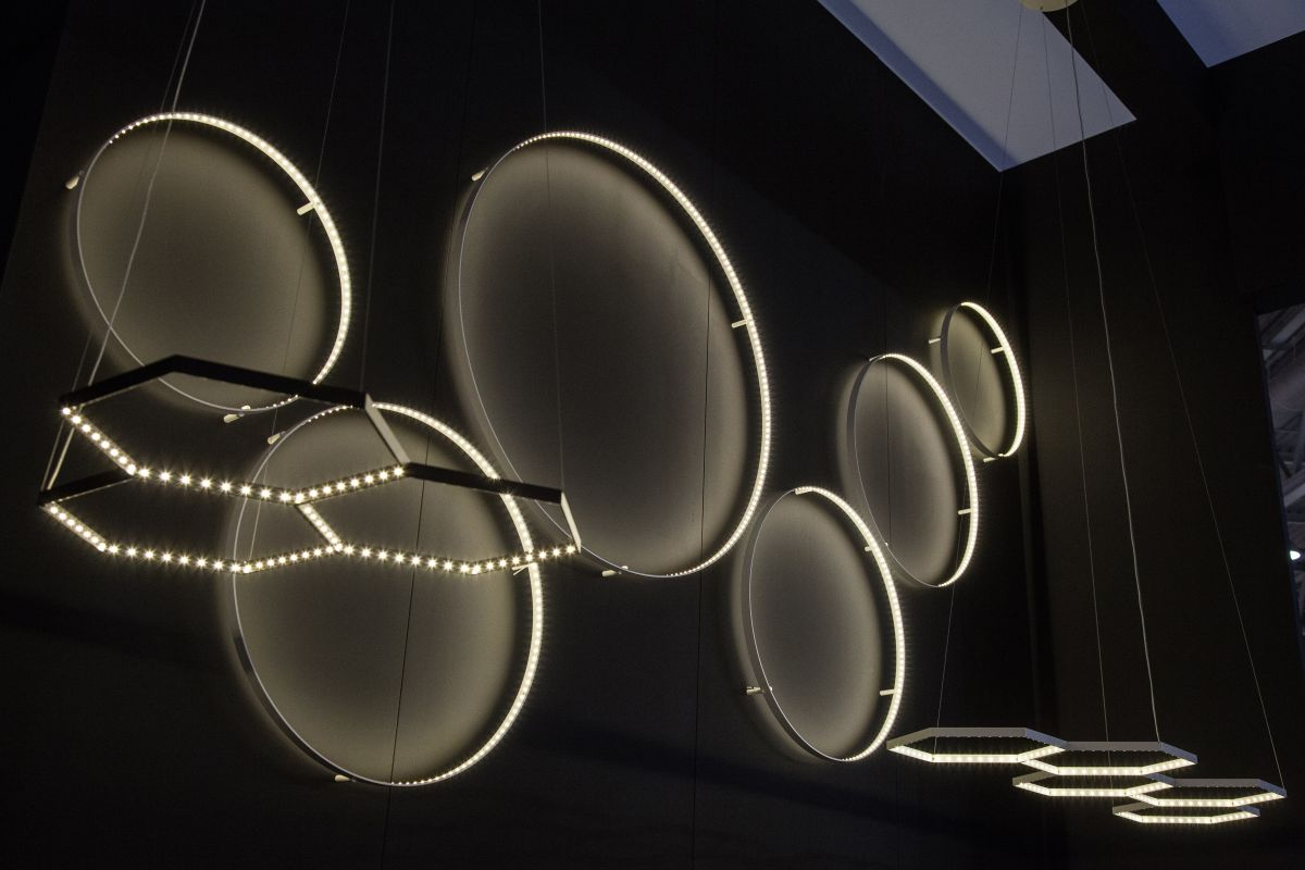 cicle wall lamps