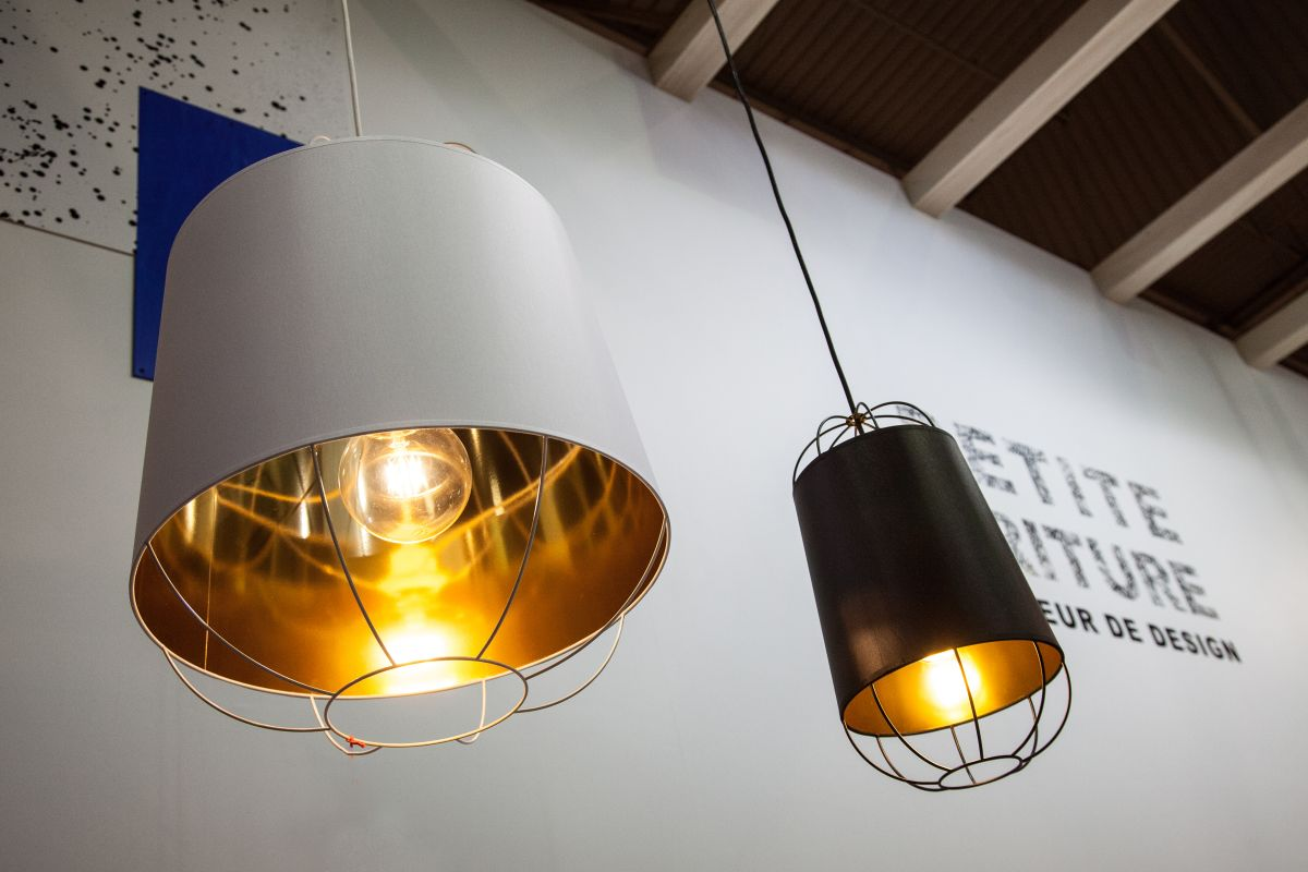 golden interior ceiling lamps
