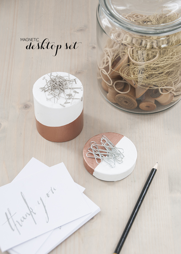 magnetic container desk accessories