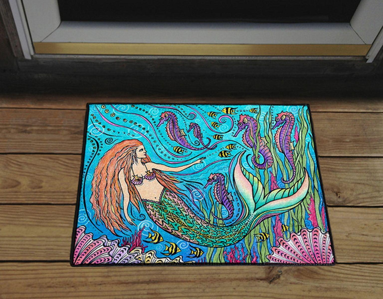 mermaid Doormat