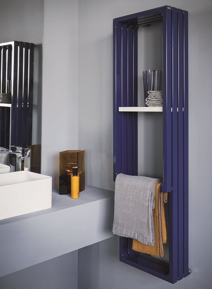 Montecarlo Vertical Towel Warmer For Bathroom