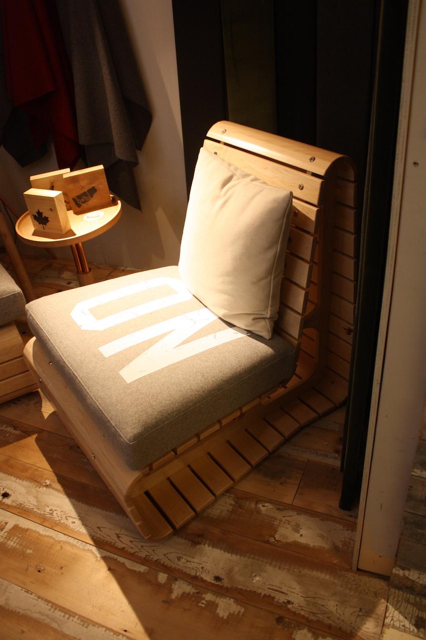 ontario wood chair