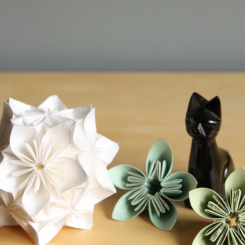 Step-By-Step Kusudama Flower Ball Tutorial