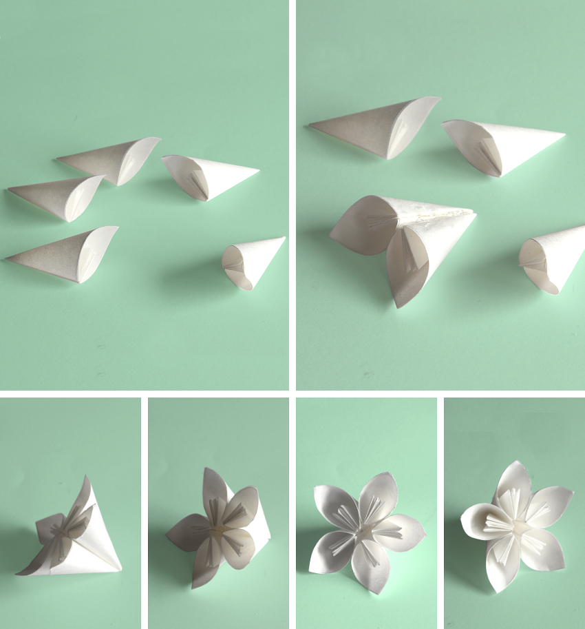 Wondrous Step By Step Kusudama Flower Ball Wiring Digital Resources Anistprontobusorg