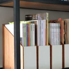 DIY Wooden Magazine Files