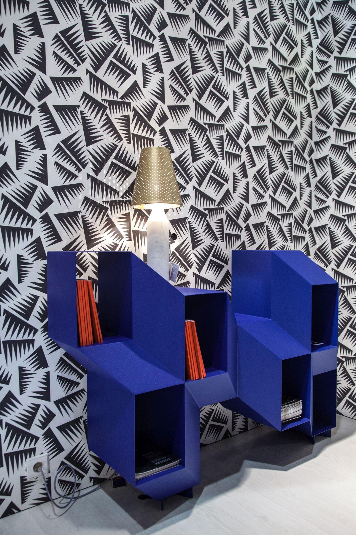 3D bookshelf storage
