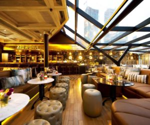 A Classy Whiskey Bar With Skyline Views Of Jakarta