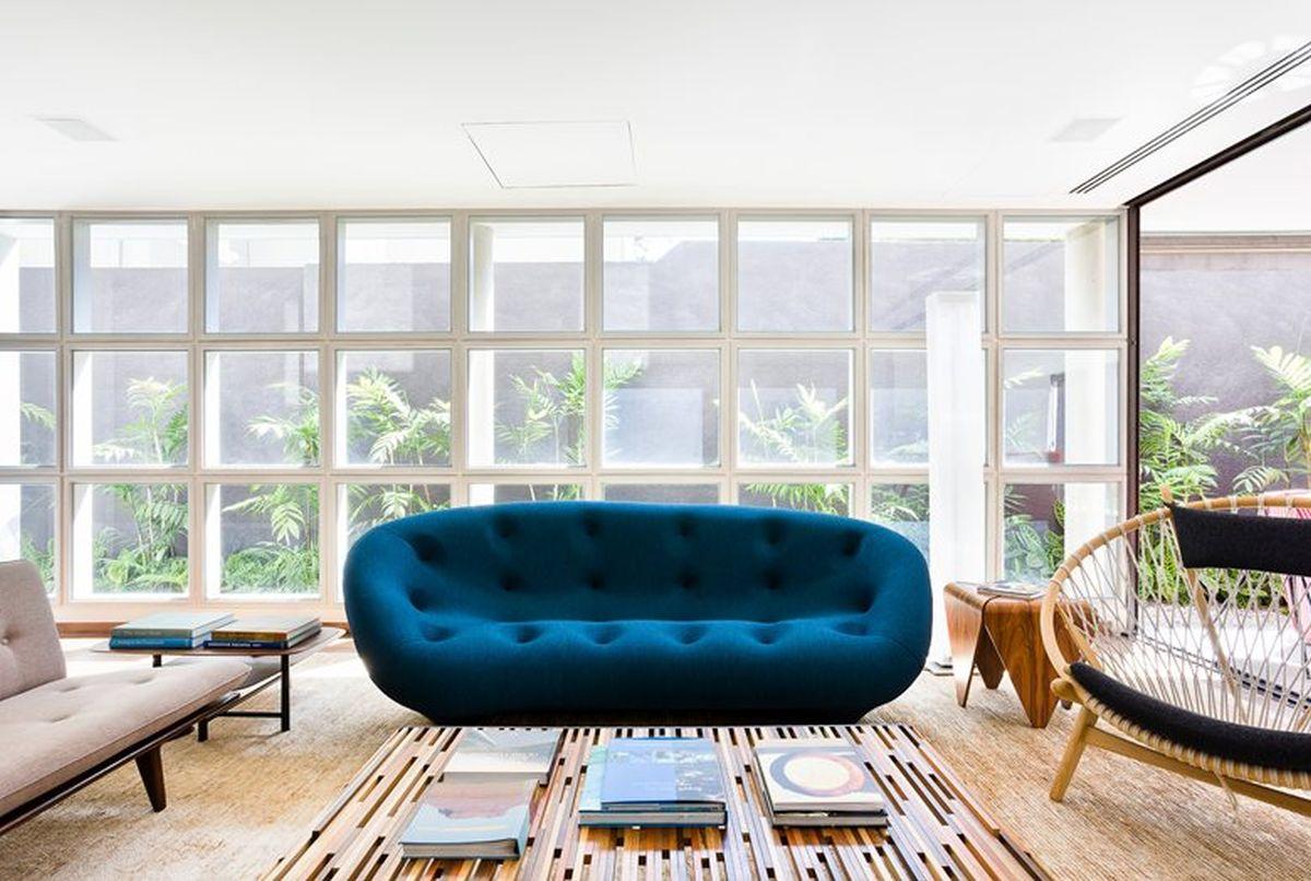 AA House fabric sofa