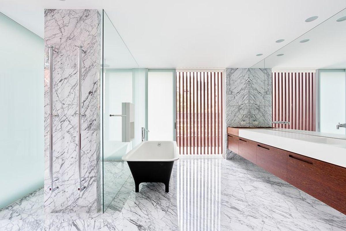 AA House main bathroom louvers
