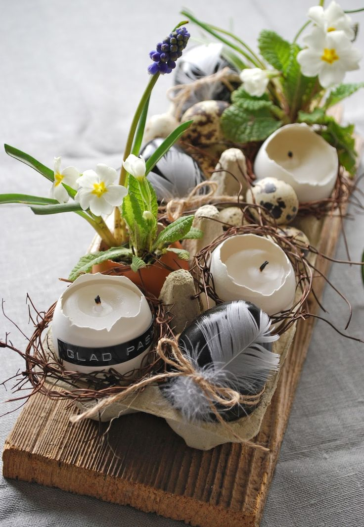 All natural easter centerpiece