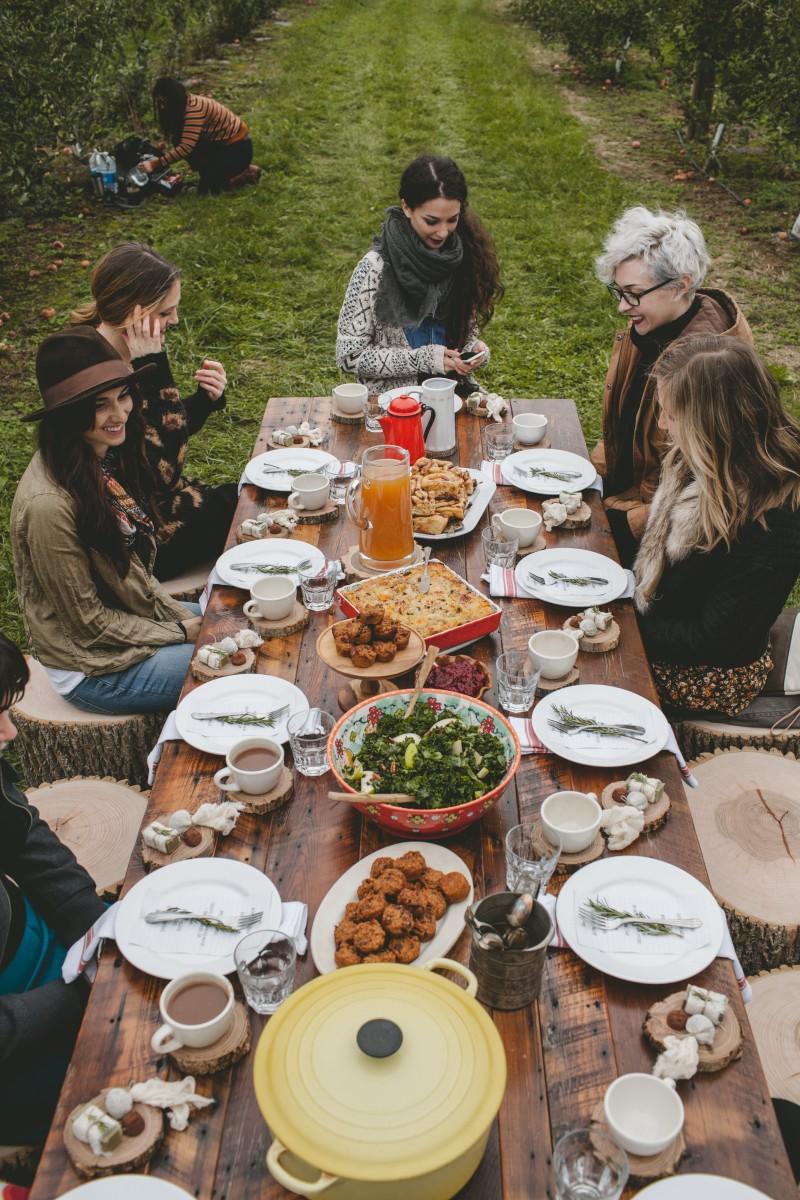 All season outdoor party