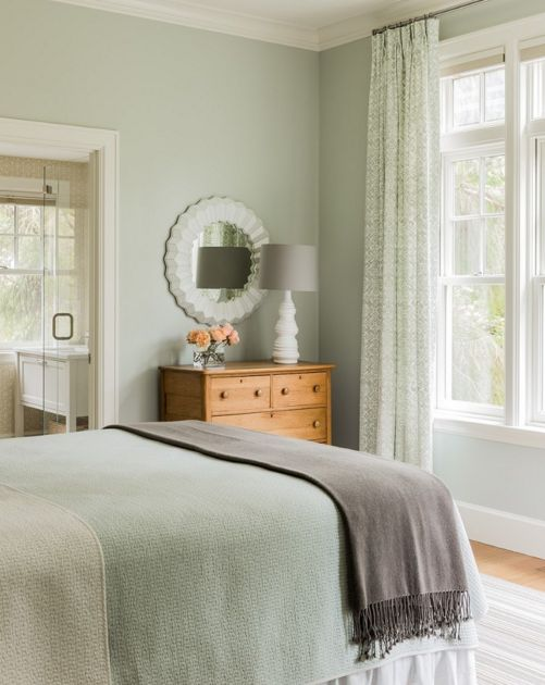 Gentil Bedroom Color Paint Sage