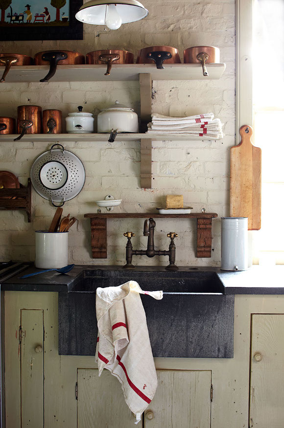 Brie williams kitchen design with farm house sink
