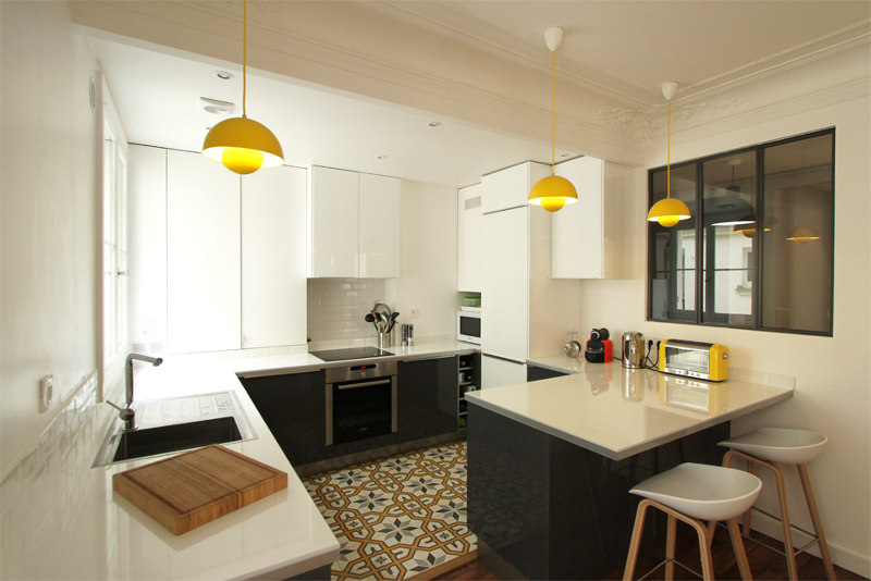 Camille Hermande kitchen design