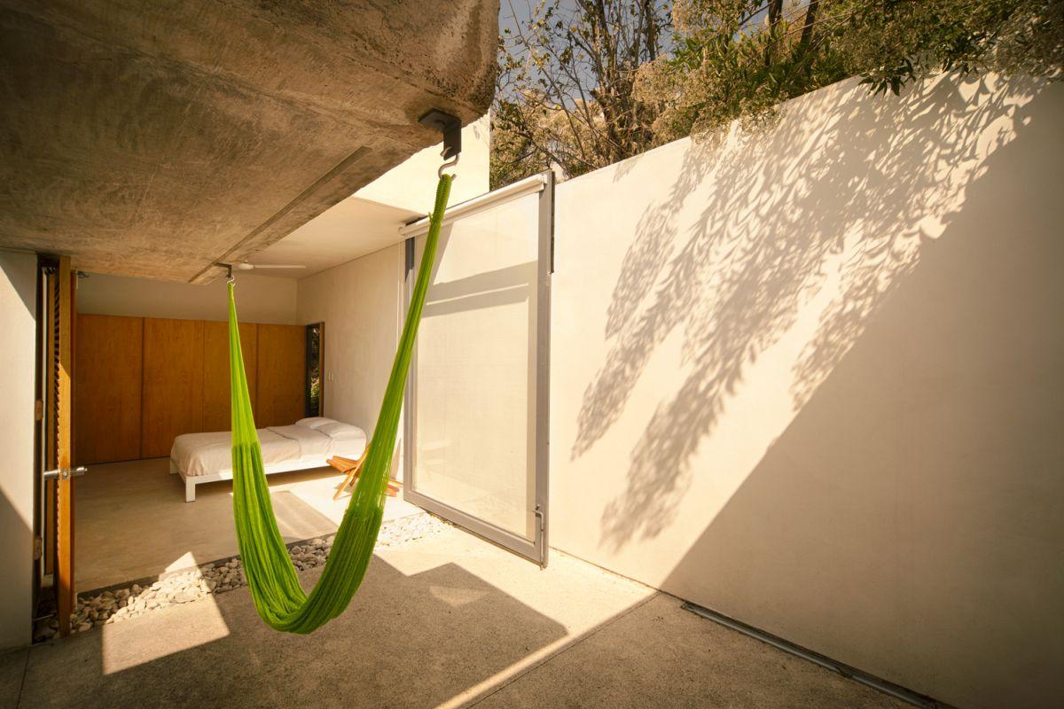 Casa Meztitla indoor hammock