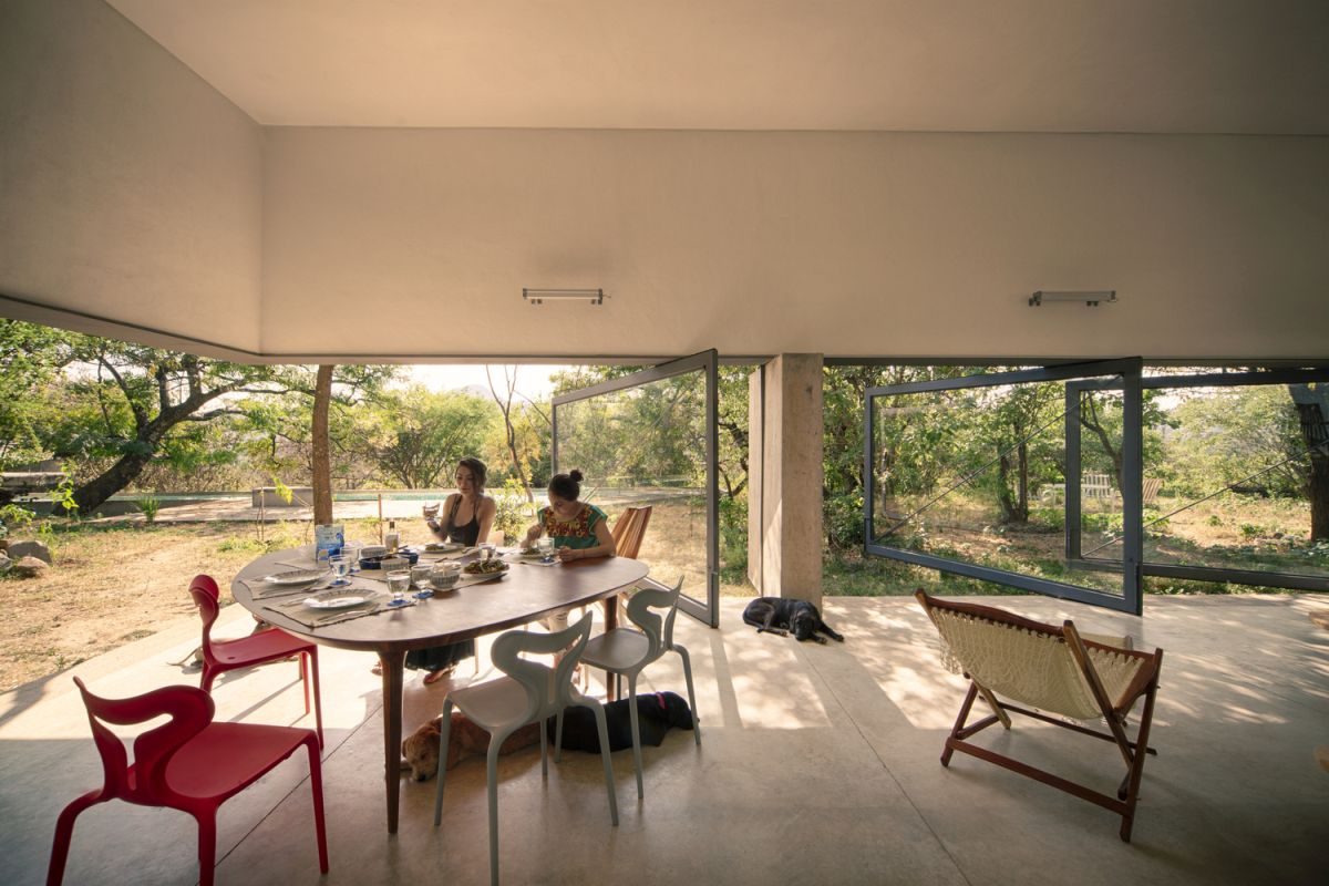 Casa Meztitla interior social area