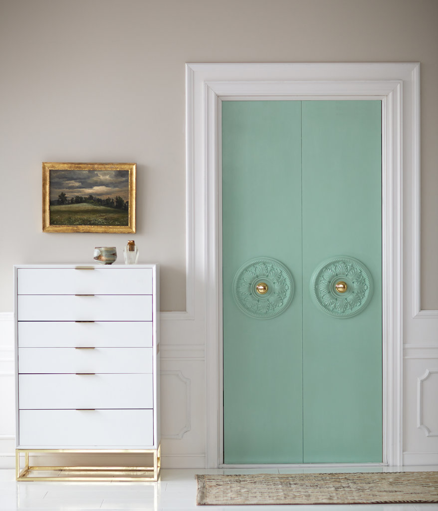 15 decorate doors with ceiling medallions