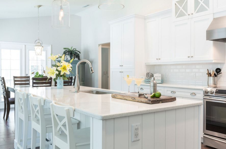 Beau Coastal Inspired Kitchen