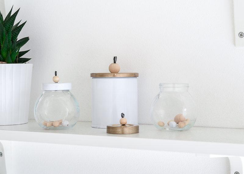 DIY Customized Storage Jars