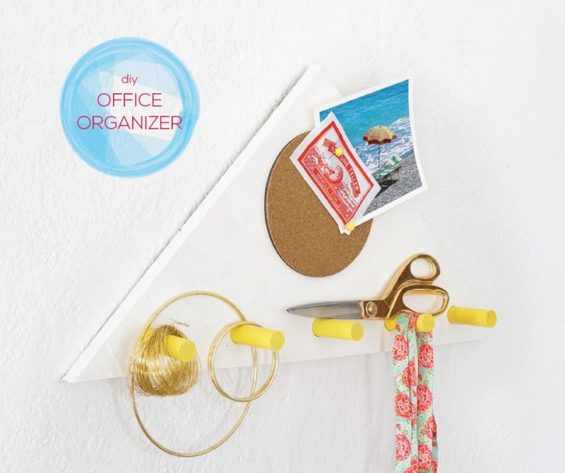 How To Make An Office Wall Organizer