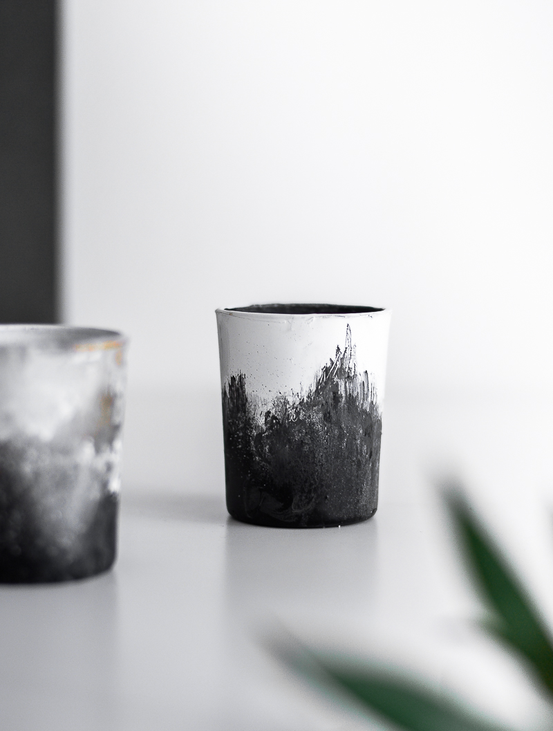 DIY Trendy Hand Brushed Containers Set Modern