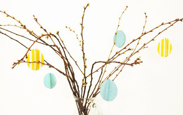 DIY serenity hanging eggs