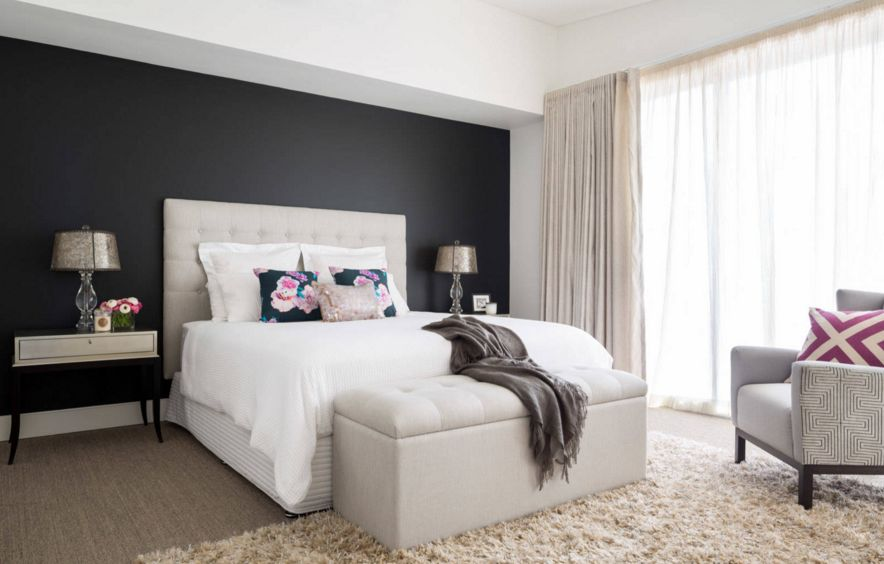 Color Paint Ideas For Bedroom Part - 16: Dark Color Paint For Bedroom