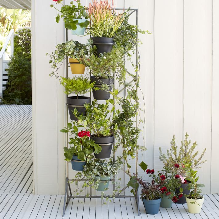 Deco screen plant stand
