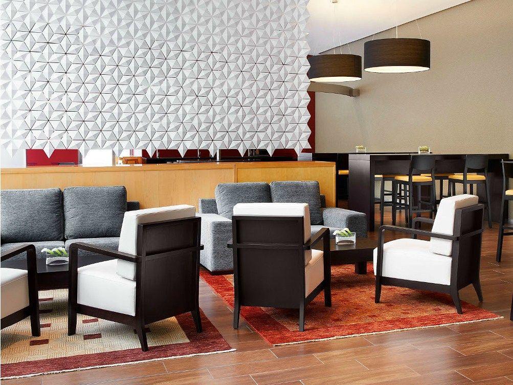 Facet room divider restaurant